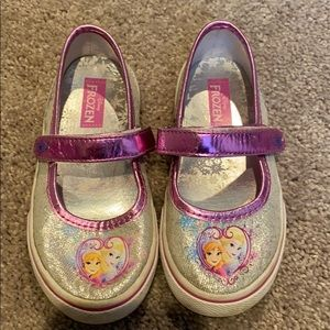 Frozen Mary Janes toddler girls size 10